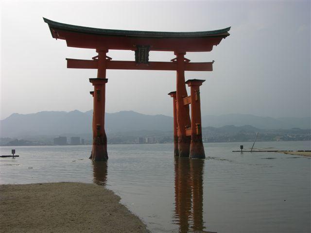 Great gate at Miyajima island