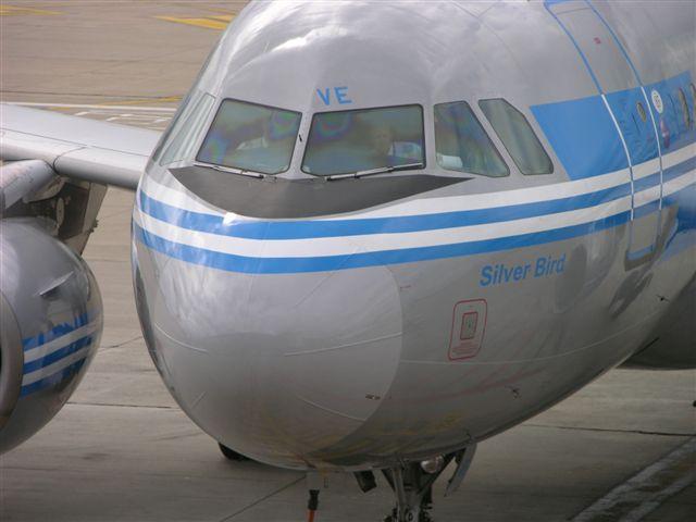 Finnair Airbus 319 in classic paint
