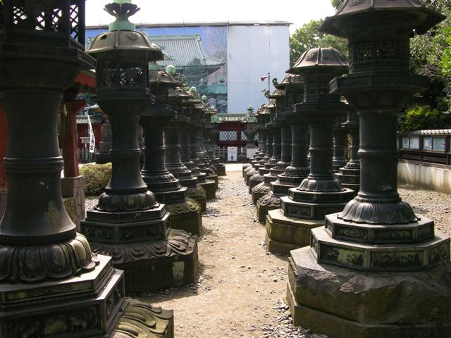 Toshogu Shrine in Ueno park