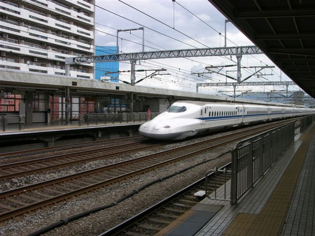 Bullettrain in Nagoya station