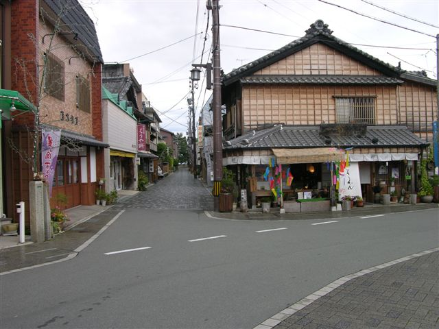 Main street, Futaminoura
