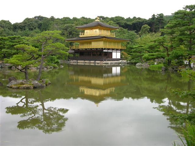 Kinkaku-ju golden pavilion