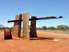 The way to the red centre