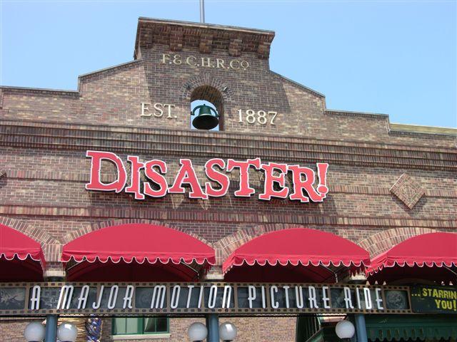 Disaster Movie set