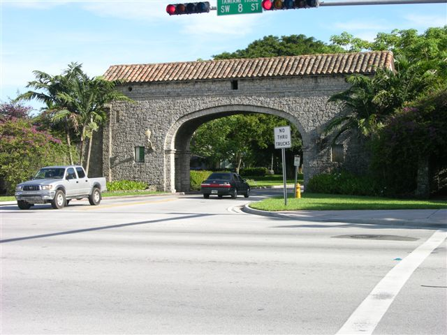 Granada Entrance of Coral Gables