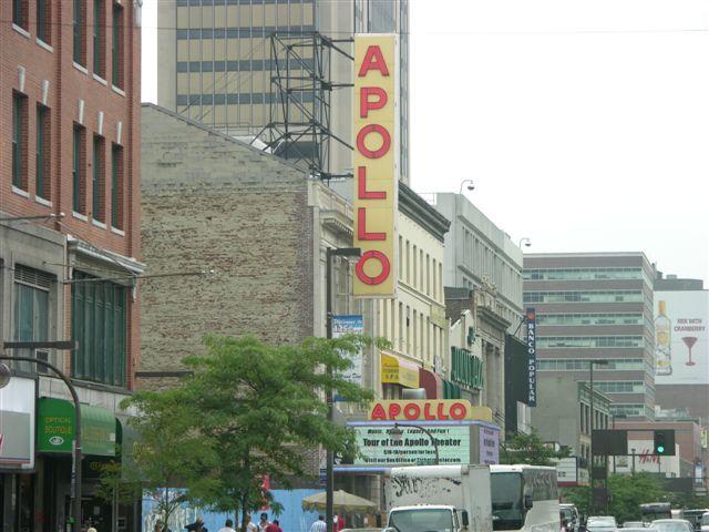 Apollo Theatre Harlem